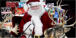 Santa Claus, reindeer, Christmas Eve, Santa Snooper, Santa webcam, Santa's sleigh, Christmas presents