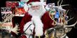 Santa Claus, reindeer, Santa Snooper, Santa webcam, elves, Santa's sleigh, Christmas Eve