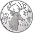 "Texas Precious Metals® Announces Release of 2015 Texas ""White-Tailed Deer"" Silver Round"