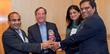 TiE Board Members presenting Lifetime Achievement Award