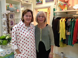 Whims on Periwinkle's Beth Redpath and Susan Sadler