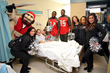 Tampa Bay Buccaneers Players, Captain Fear and Cheerleaders Visit...