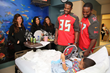 Bucs Players Brighten Patients Day at Florida Hospital Tampa