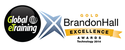Global eTraining wins Gold in Brandon Hall Excellence Technology Awards 2014