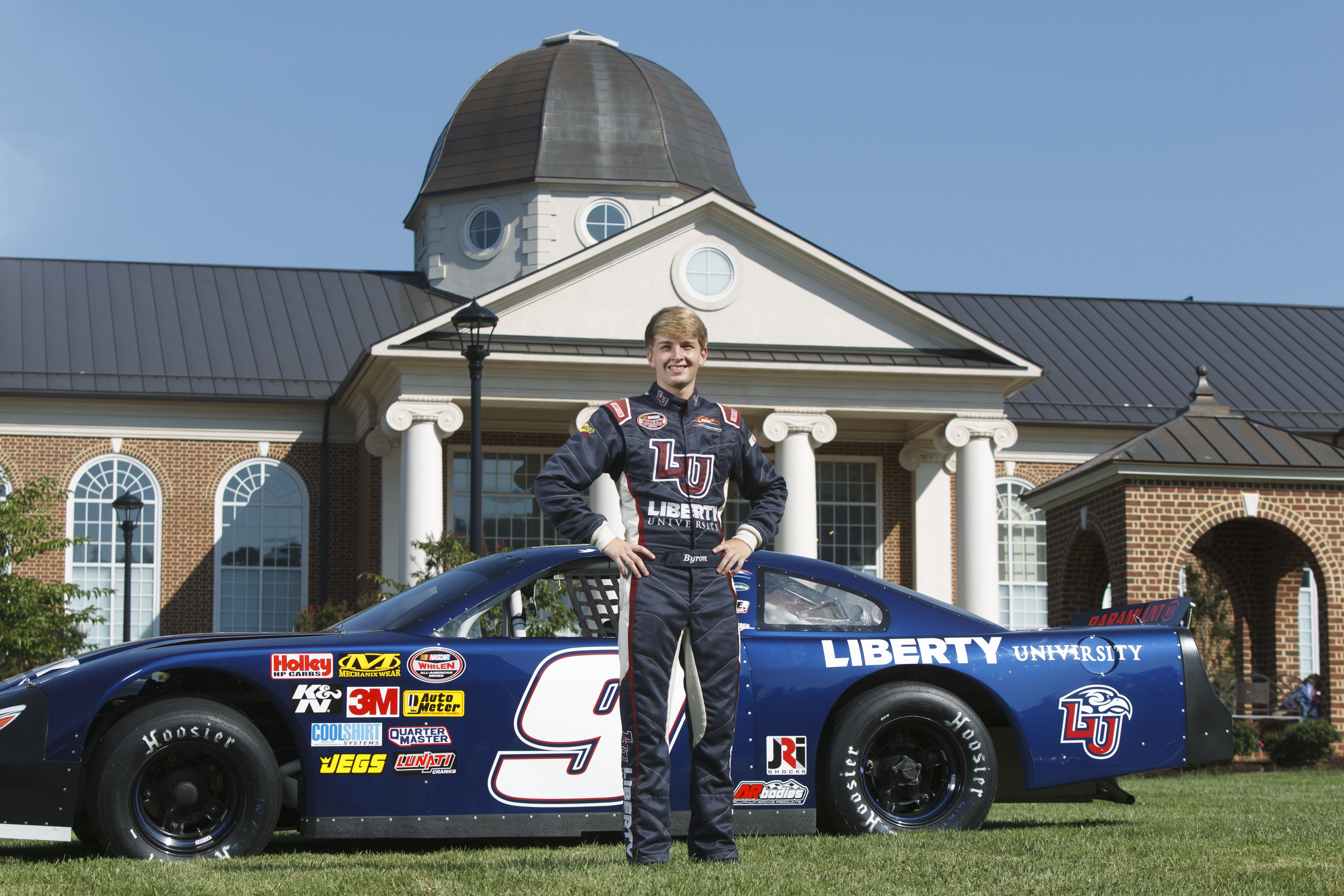 William Byron to Drive Liberty University-Sponsored NASCAR K&N Pro Series and Late Model Cars in ...