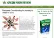 GreenRushReview.com Reports Marijuana Crowdfunding Is An Industry to...
