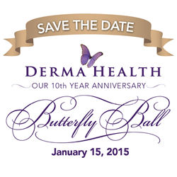 Derma Health Butterfly Ball
