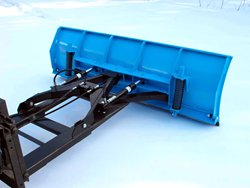Forklift Snowplow Attachment
