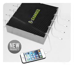 Inbox custom cell phone charging station from InCharged