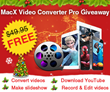 MacXDVD Unlocks 16 Days of Christmas Giveaway with MacX Video...