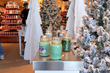Winter Wonderland retail track display manufactured by 888 Brands LLC and placed in Yankee Candle Williamsburg VA