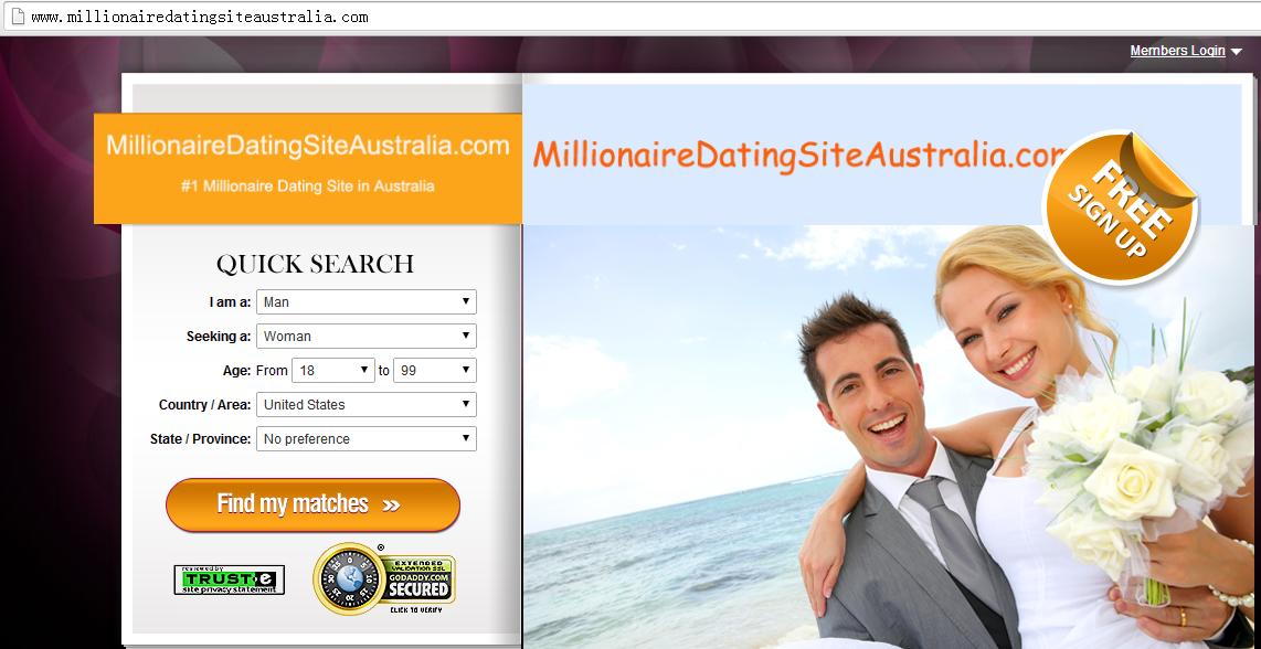 Millionaire dating sites in Perth