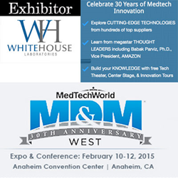 Whitehouse Laboratories - Med Tech World's Medical Device and Manufacturing Conference