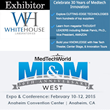 Whitehouse Laboratories Announces Attendance at MedTech World's...