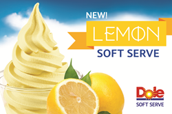 DOLE Soft Serve Offers Six Fruit Fflavors