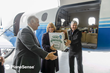 PlaneSense, Inc. Delivers to the NH Food Bank by PC-12 Aircraft
