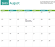 MyExcelTemplates releases 2015 Calendar Templates for New Year