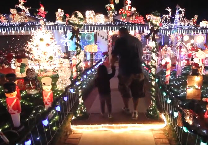 Southern California Electric >> Baker Electric Solar Helps San Marcos Santa Light Up His ...