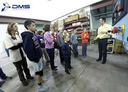 Diversified Machine Systems H.O.M.E. Manufacturing Homeschool Tour for DMS CNC Routers