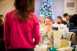 """Washington, D.C. Expectant Military Moms Celebrate the Holidays with USO """"Special Delivery"""" Baby Showers"""