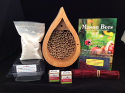 Crown Bees, Mason Bees, Garden Media Group
