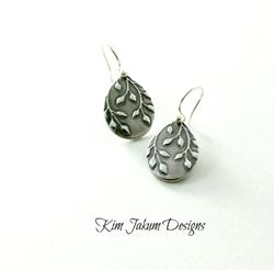 Falling Leaves Earrings by Kim Jakum Designs