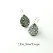 Emily Deschanel Wears Kim Jakum Designs' Falling Leaves Earrings on...