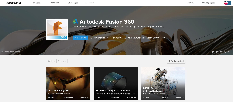 Hackster Announces 3D CAD Initiative With Autodesk® Fusion 360™