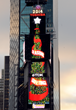 World's Tallest Digitally-Animated Christmas Tree Lights up Toshiba, TDK and Dunkin' Donuts Screens High Atop One Times Square to Kick-Off a 7 Day Countdown to Christmas