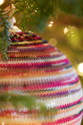 Missoni vintage ornaments from the family's personal collection