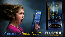 Heist, personalized teen mystery novel from BookByYou.com.