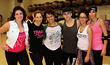 Left to right: Hila Riva, Nurit Chasman, Eileen Fuentes, Chris SantaMaria, Imani Fuentes and Cat Veca.