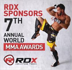 RDX Sponsors 7th Annual World MMA Awards
