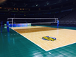 Court level of the Official Court for the 2014 NCAA DI Women's Volleyball Championships