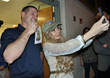 """NASHVILLE"" Star Clare Bowen Makes Holiday Visit to Tinker Air Force..."