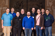 Seminarians w/ Rector on Holy Land Pilgrimage