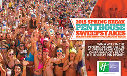 Spring Break HQ Sweepstakes at the Holiday Inn Resort