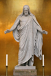 Bringing Christ Back Into Christmas - Big Statues creating Christus...