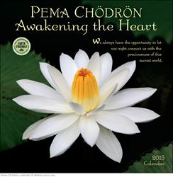 Pema Chödrön 2015 wall calendar from Amber Lotus Publishing