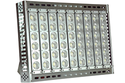 High Bay LED Light Fixture with Stainless Steel Mounting Brackets