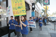 The Pasadena chapter of Youth for Human Rights walked down Colorado Boulevard in Old Pasadena December 6, promoting universal human rights education.