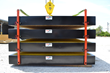The Stack & Pin option simplifies load securement for transportation purposes