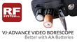 RF System Lab Introduces AA Battery Powered Video Borescope