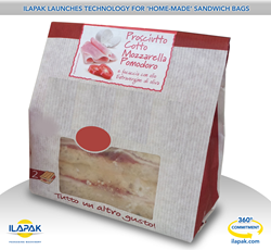 Ilapak launches technology for home-made sandwich bags