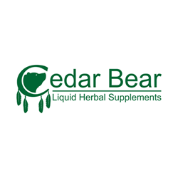 Cedar Bear, manufacturer of liquid herbal and mineral supplements, no alcohol, herbal supplements in liquid form