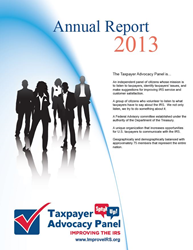 2013 TAP Annual Report cover