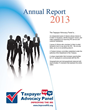 Taxpayer Advocacy Panel Releases 2013 Annual Report, Includes 148...