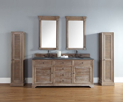 Savannah Linen Cabinets In Driftwood 238-107-5011 from James Martin Furniture