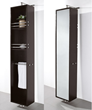 Claire Rotating Wall Cabinet With Mirror WC-B802 from the Wyndham Collection
