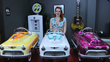 Custom-Painted, Hand-Airbrushed Comet Pedal Cars For Sale At Linear...